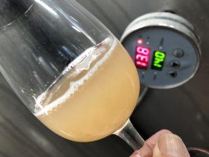 Chardonnay ferment