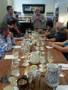 Tasting event with Rob Moody at Somerled Cellar Bar